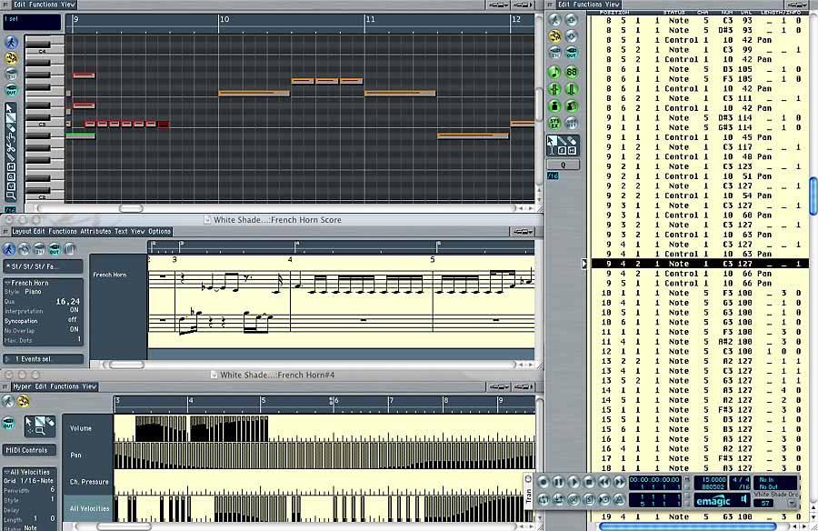 Emagic Logic Pro 6 -:-:- FUTURE STYLE -:-:- electronic