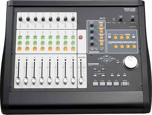 Tascam 1082 vs apc40 for Firewire mixer motorized faders
