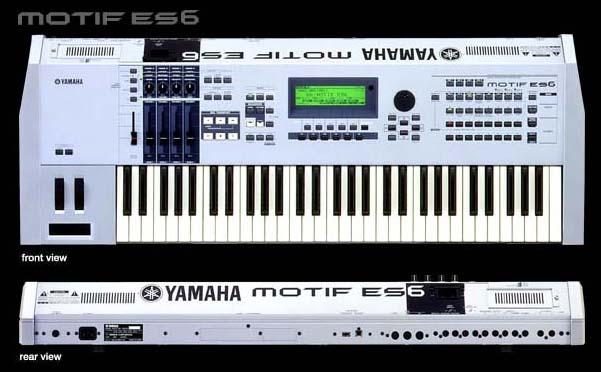 Yamaha motif es7 images galleries for Yamaha motif xs8 specs