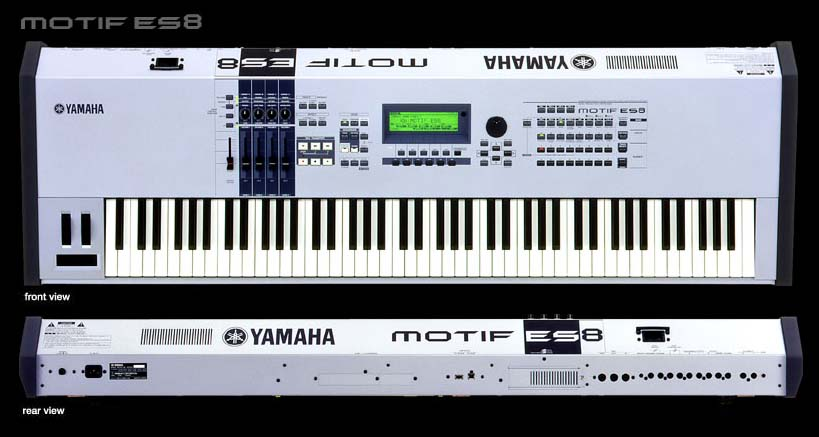 "Yamaha Motif-ES ""Expanded System"" 6, 7, 8 -_-_- FUTURE STYLE"